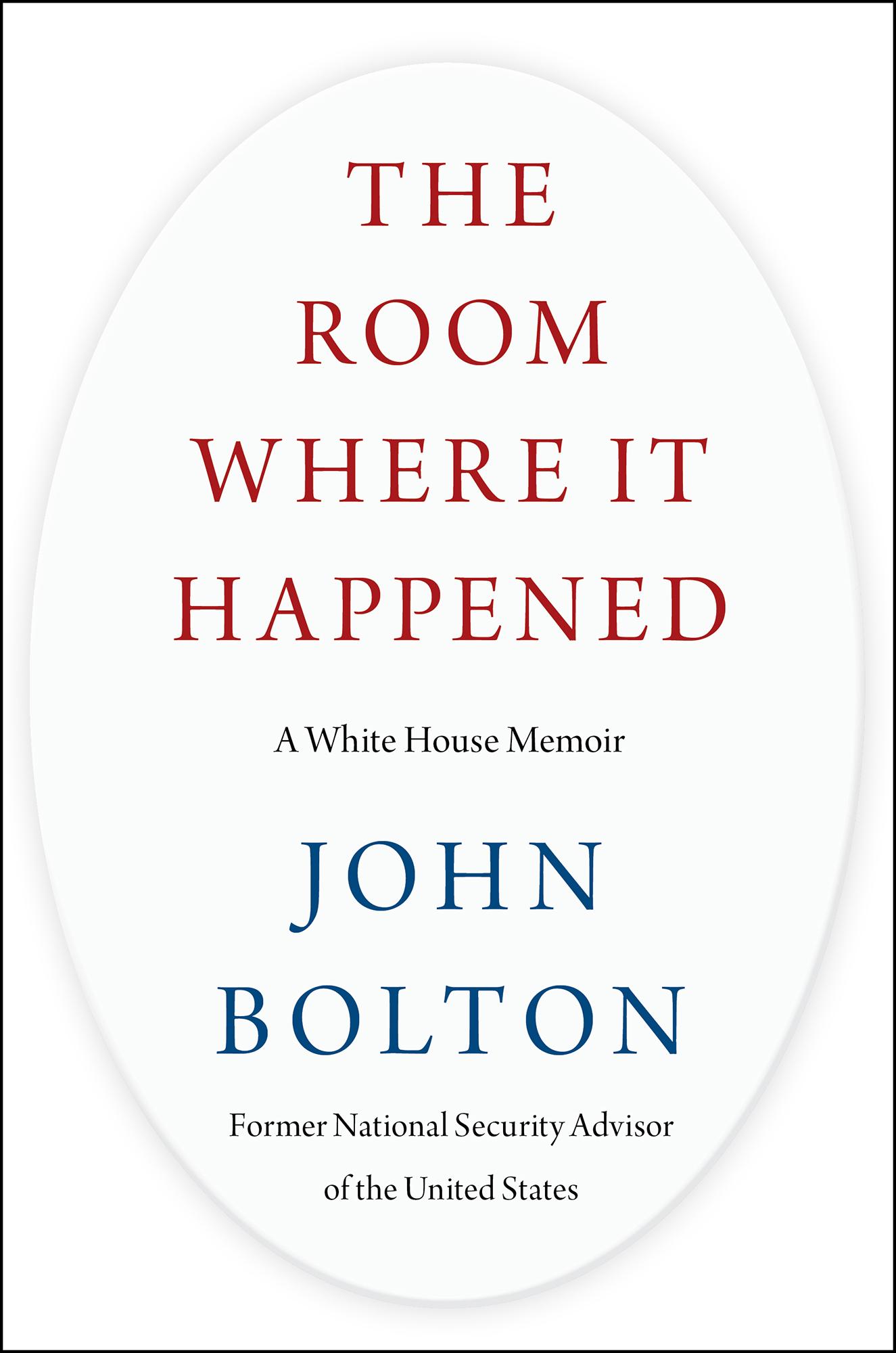 事件发生的房间:白宫回忆录(又名:事发现场、事发之室)